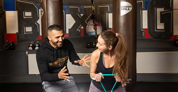 privates training bei the ring essen